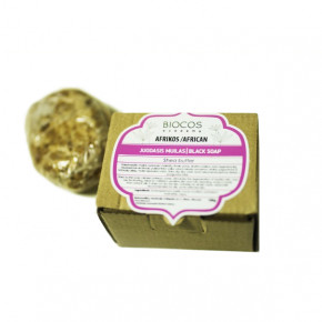 BIOCOS academy African Black Soap Shea Butter 100g