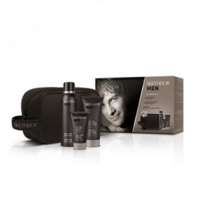 Skeyndor Men Facial Care Kit + Shaving Gel + Aftershave + Emulsion