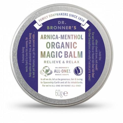 Dr. Bronner's Arnica Menthol Organic MAGIC Balm 60gr