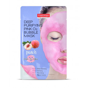 Purederm Deep Purifying Green O2 Bubble Mask  25g