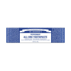 Dr. Bronner's PEPPERMINT All-One Toothpaste 140g
