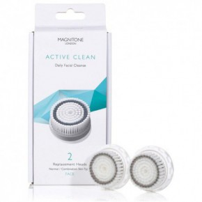 Magnitone London Active Clean Normal / Combination Skin Replacement Heads