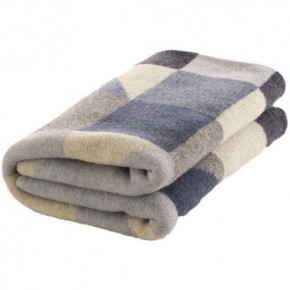 Nord Snow Random Colour Style Merino Wool Blanket