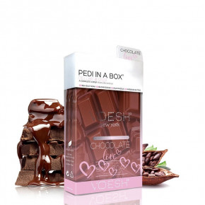 VOESH Deluxe Pedi In A Box 4 Step Chocolate Love  Set