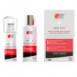 DS Laboratories NIA Fix Instant Bond and Cuticle Restructuring System 100ml+50ml