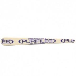 Spilo Flowery Purifiles White 80/80 Nail File 1pcs