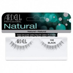 Ardell Natural Lashes 108 Demi Black 1pcs