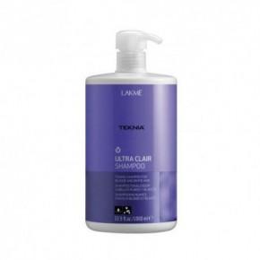 Lakme Teknia Ultra Clair Blonde Hair Shampoo 1000ml