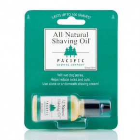 Pacific All Natural Shaving Oil 15ml
