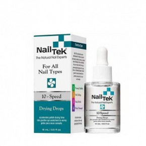 Nail Tek 10 - Speed Drying Nail Polish Drops 15ml