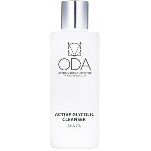 ODA Active Face Cleanser With Glycolic Acid, 7% 200ml