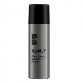 Label M Extra Strong Hair Mousse 200ml