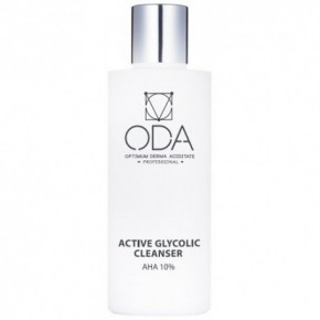 ODA Active Face Cleanser With Glycolic Acid, 10% 200ml