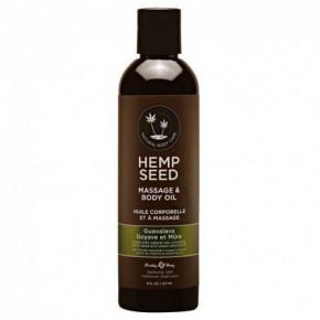 Marrakesh Hemp Seed Guavalava Massage & Body Oil 237ml