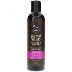 Marrakesh Hemp Seed Skinny Dip Massage & Body Oil 237ml