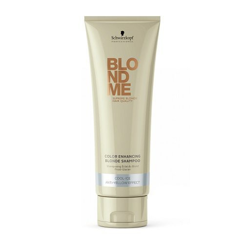Schwarzkopf BlondMe Cool Ice Color Enhancing Bonding Hair Shampoo 250ml