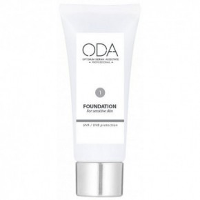 ODA Foundation For Sensitive Skin, Nr. 1 30ml