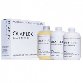 Olaplex Salon Intro Kit + Multiplier No.1 + Perfector No.2 (2) 3x525ml