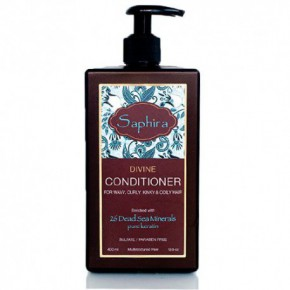 Saphira Divine Conditioner For Wavy, Curly Hair 400ml