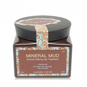 Saphira Mineral Hair Mud with keratin 500ml